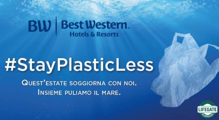StayPlasticLess: il primo Seabin LifeGate di Best Western è nel Tigullio